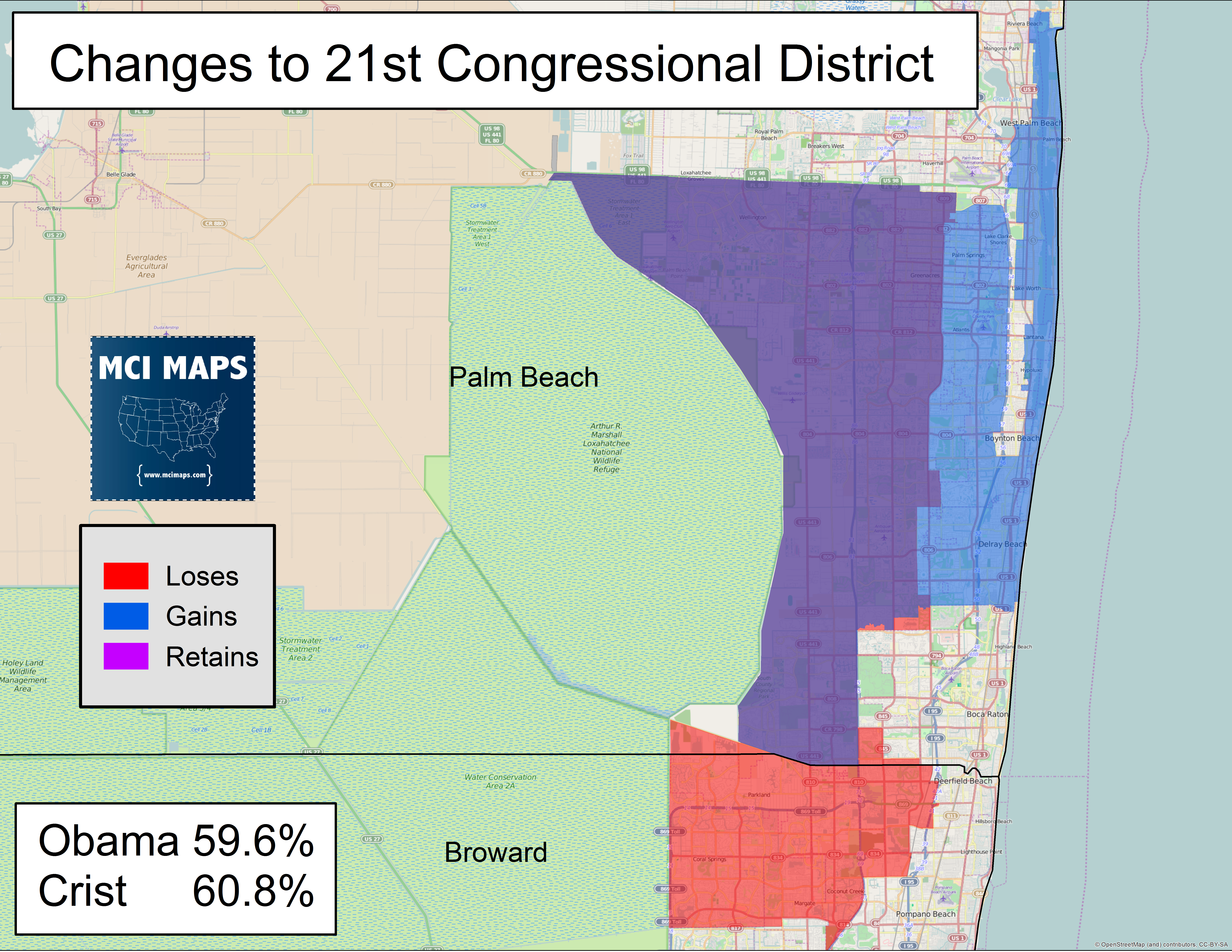 The Complete Breakdown of Florida\'s Proposed Congressional Districts ...