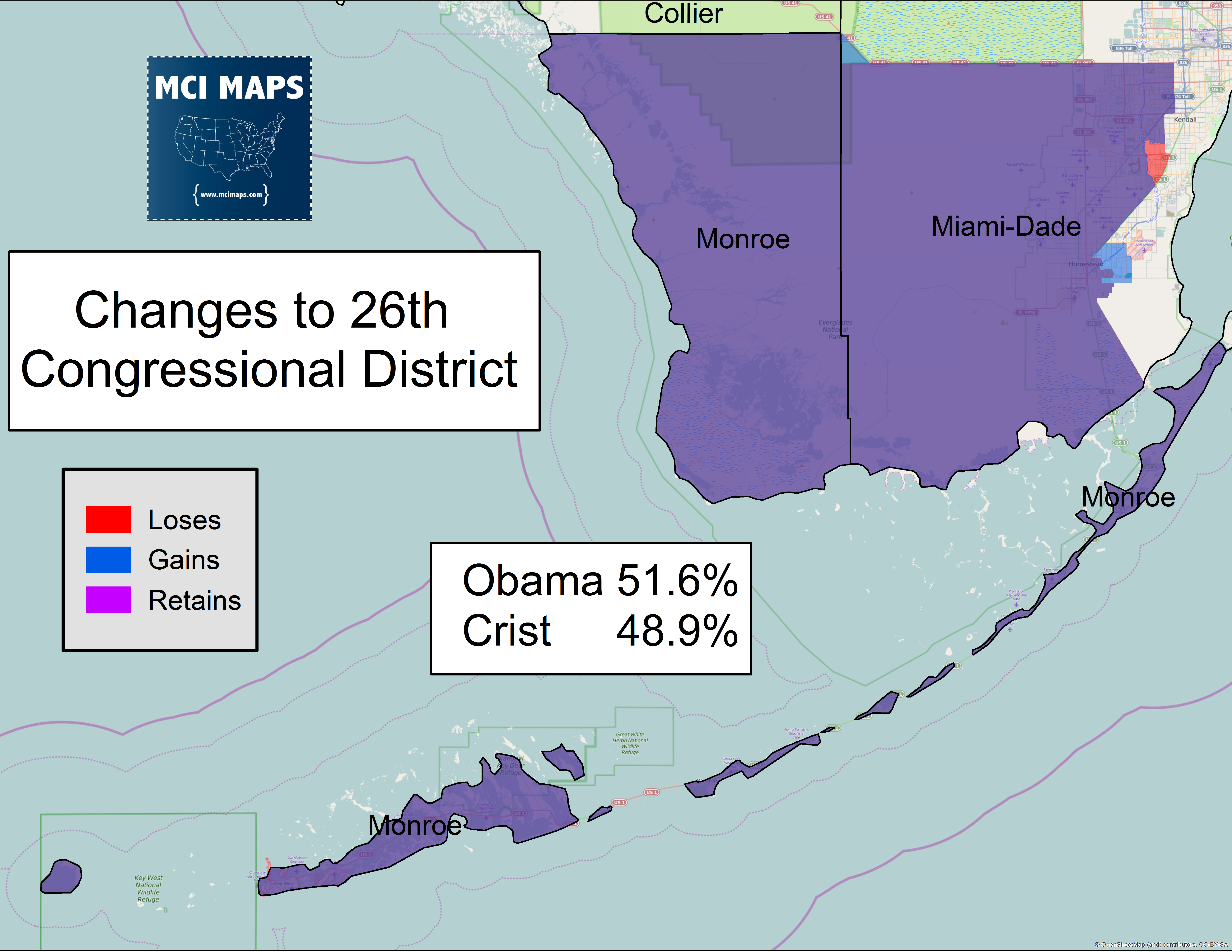 The Removal Of The African American Precincts Makes The District More Republican Than It Currently Is Taking Obama S From 53 Percent To 51 6 Percent