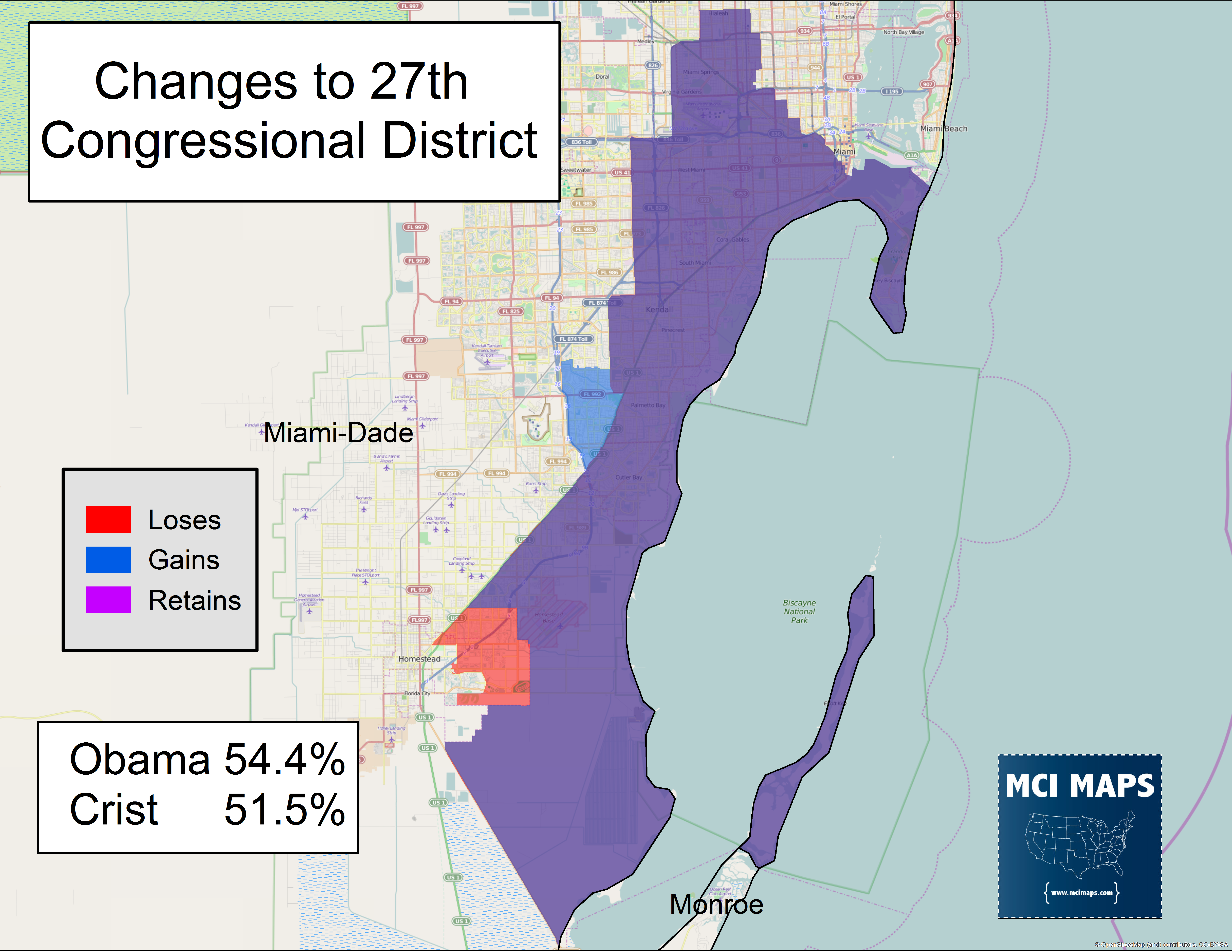 The Complete Breakdown of Floridas Proposed Congressional Districts