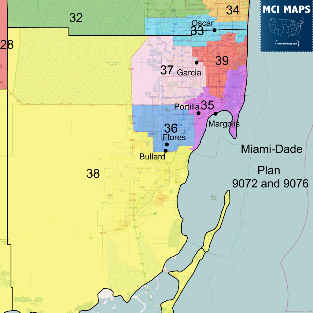 Maps Municipalities Of MiamiDade County Miami Geographic Maps - Florida map dade city