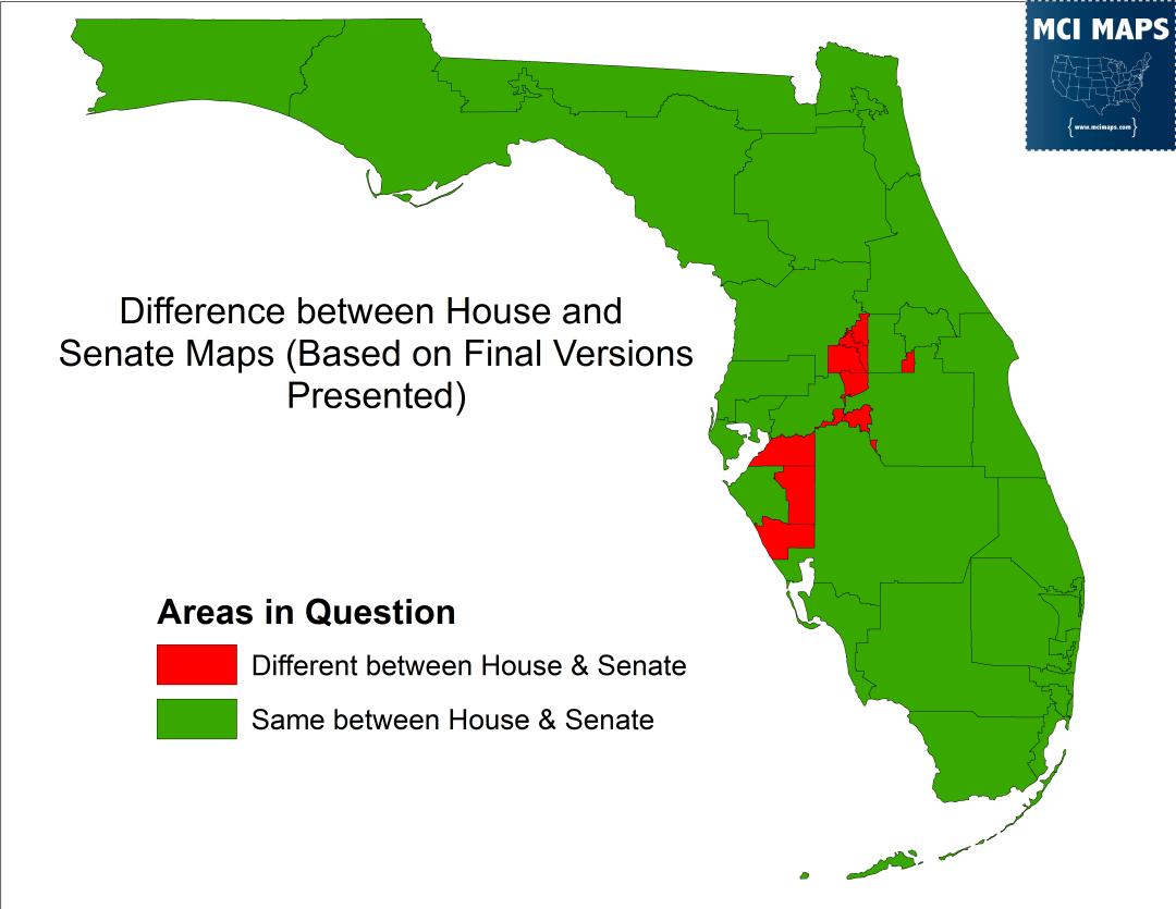 Debated Areas