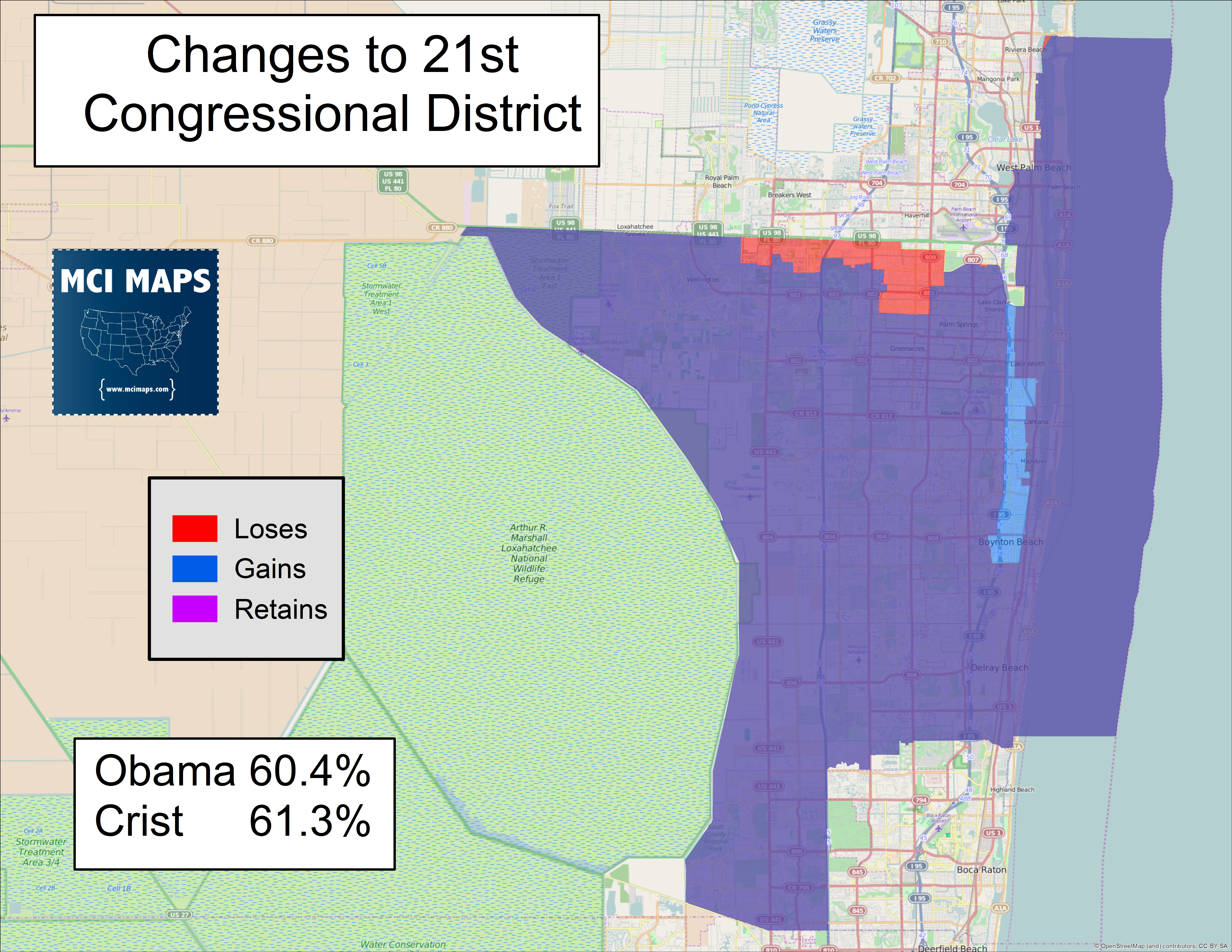 Looking At The Florida Redistricting Maps Offered By The - Florida map i 95