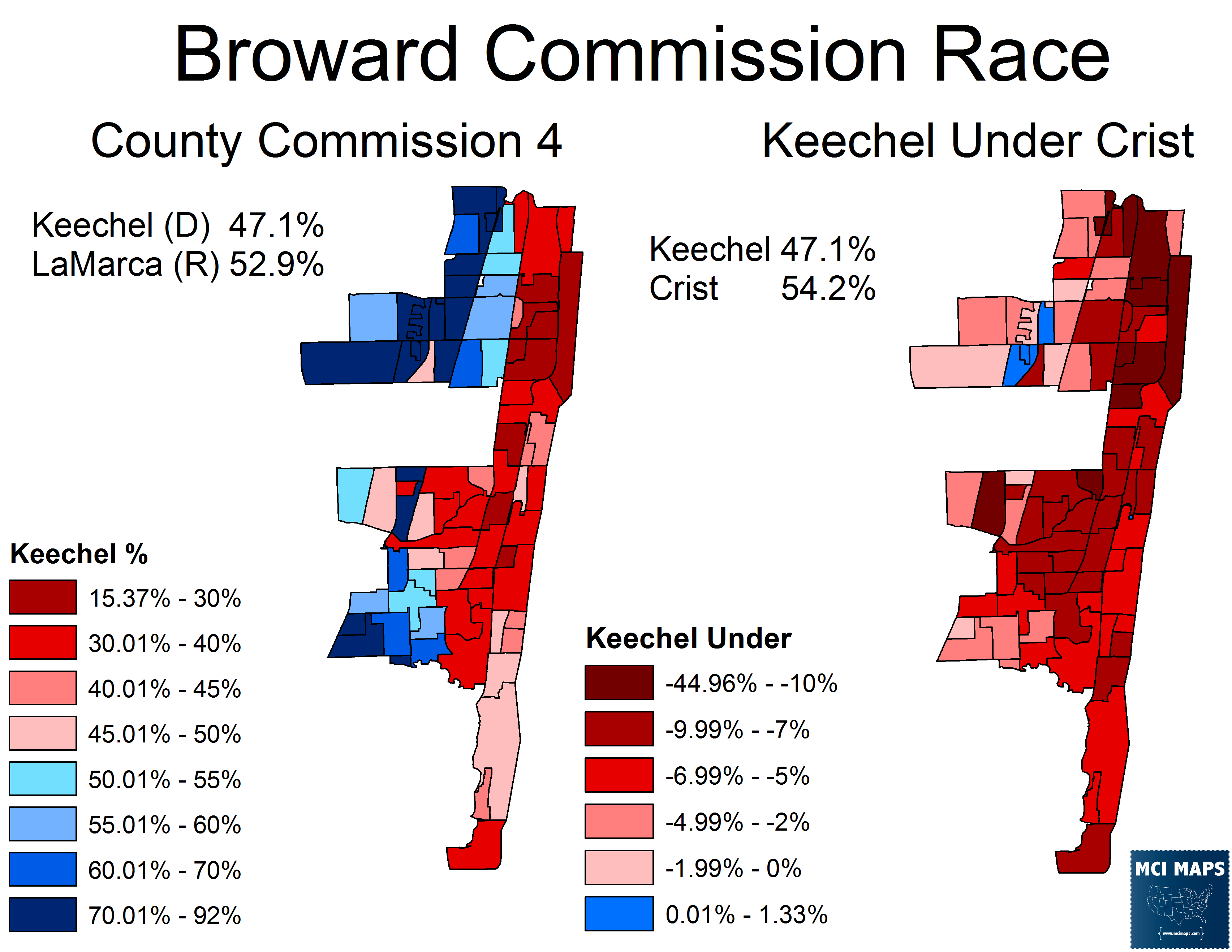 How Florida Democrats fared in 2014′s Local Elections – MCI Maps