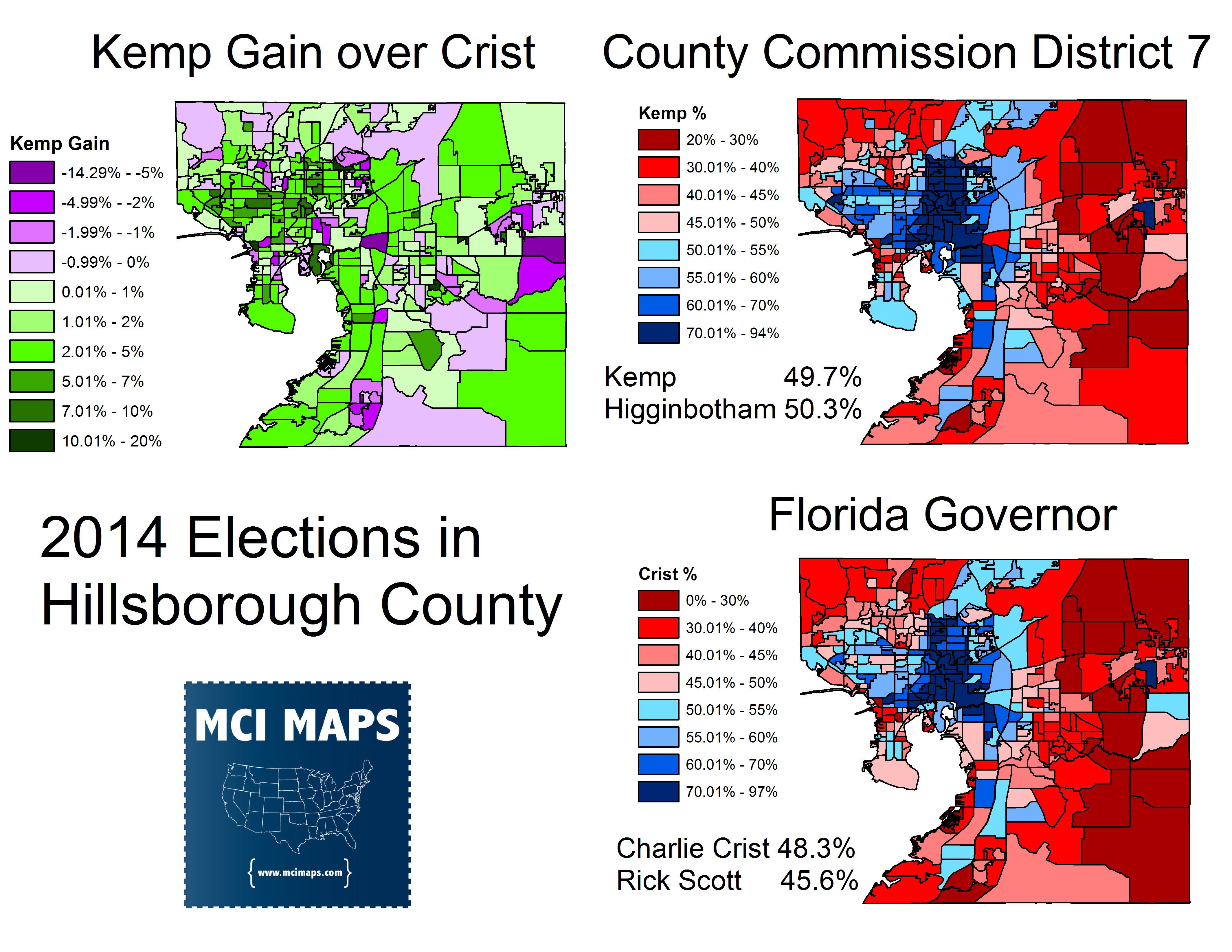 How Florida Democrats Fared In 2014 S Local Elections Mci Maps
