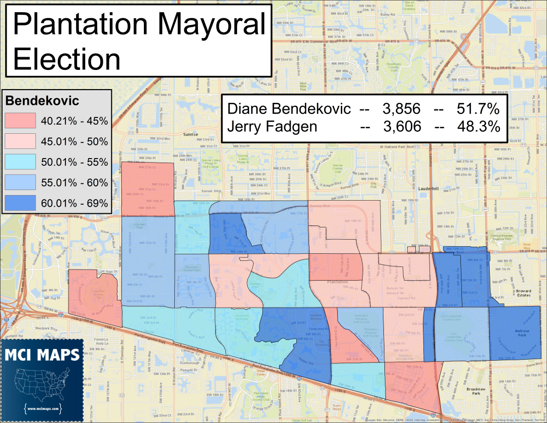 Maps And Quick Thoughts On Broward S Municipal Election Results