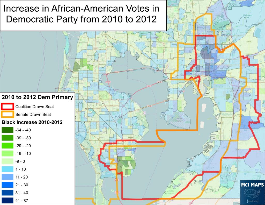 Tampa Senate Black Gain