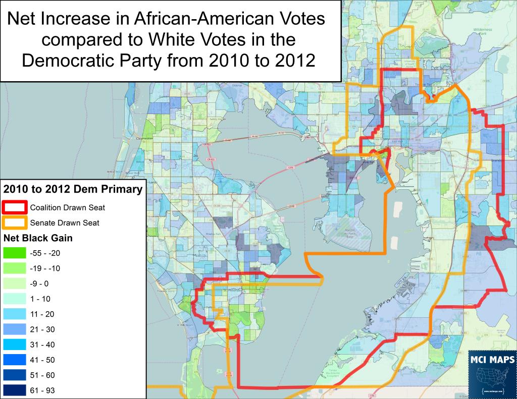 Tampa Senate Net Black Gain