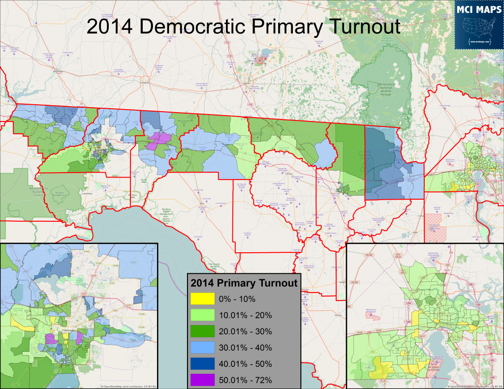 2014 Precinct Primary Turnout