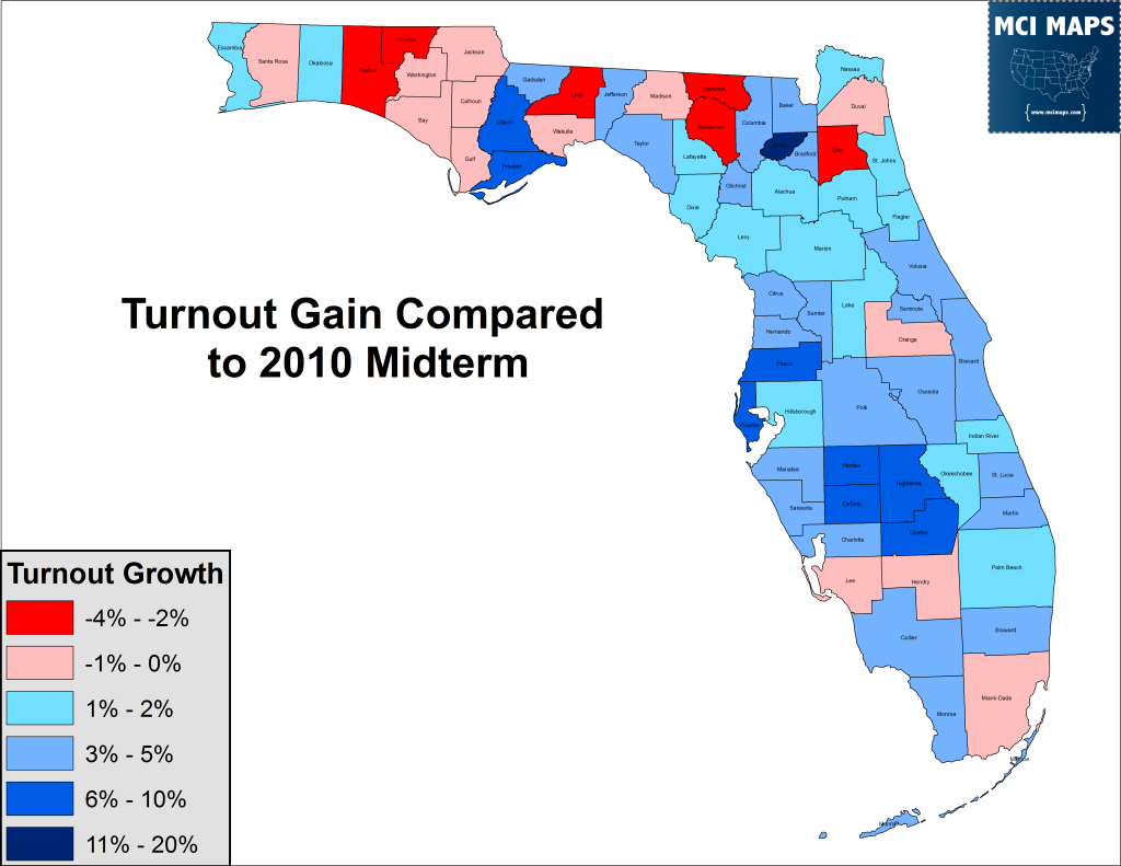 2014 Turnout Growth
