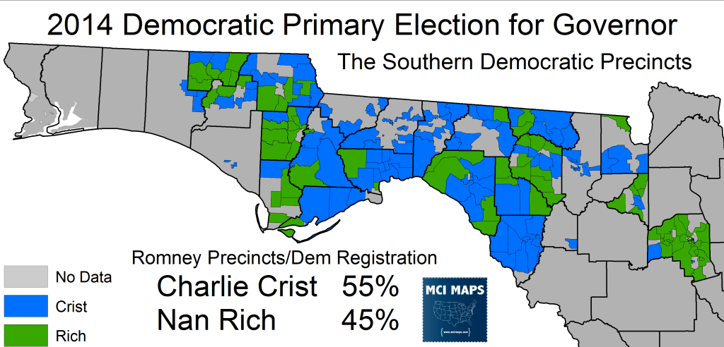 2014 Rich Crist Precincts North Dixie