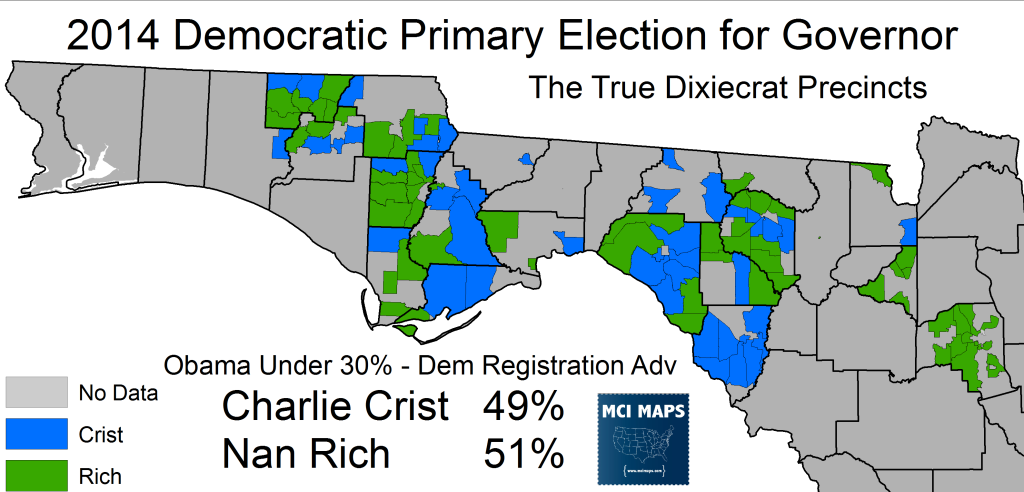 2014 Rich Crist Precincts North Super Dixie