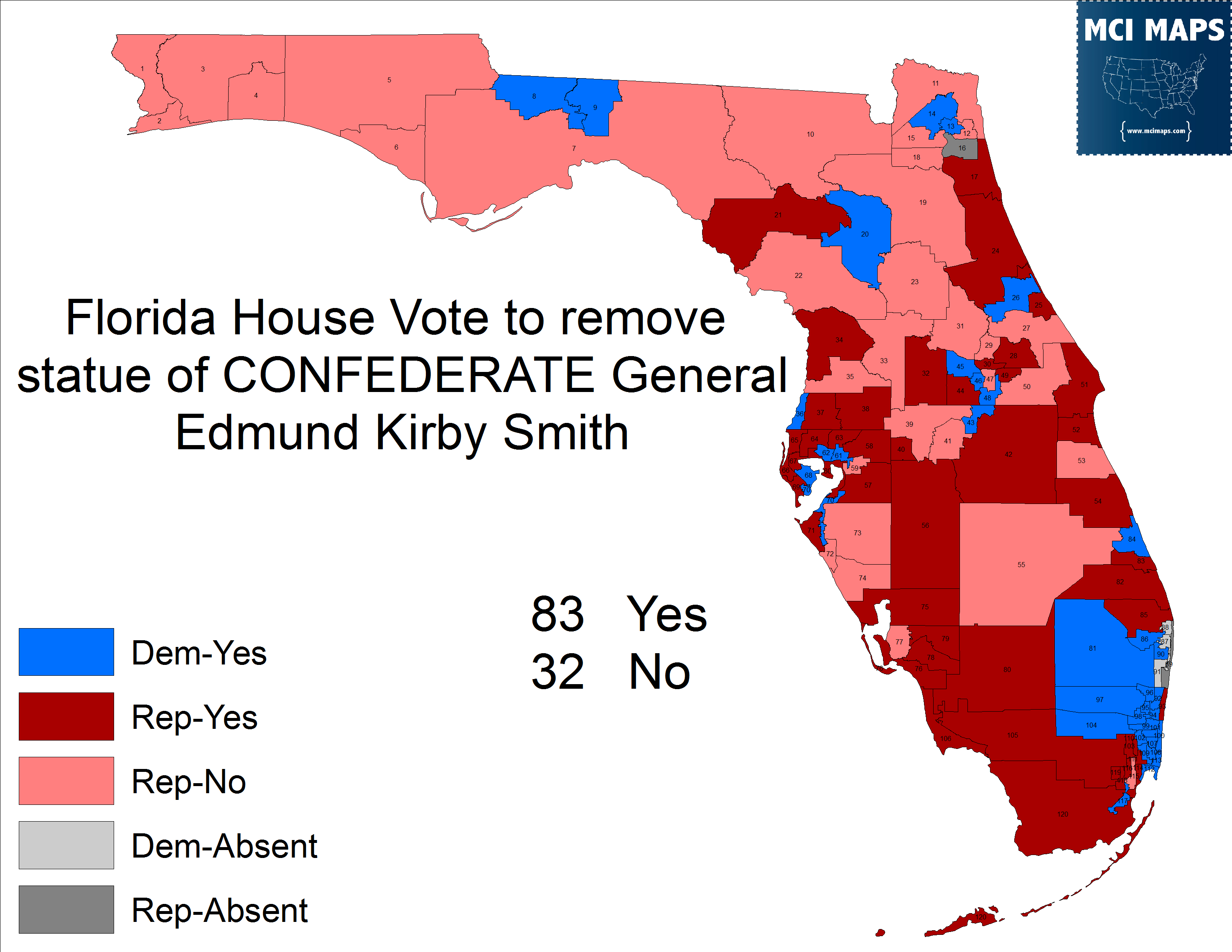 A Trip Through History On The Florida Republicans Who Voted To Keep