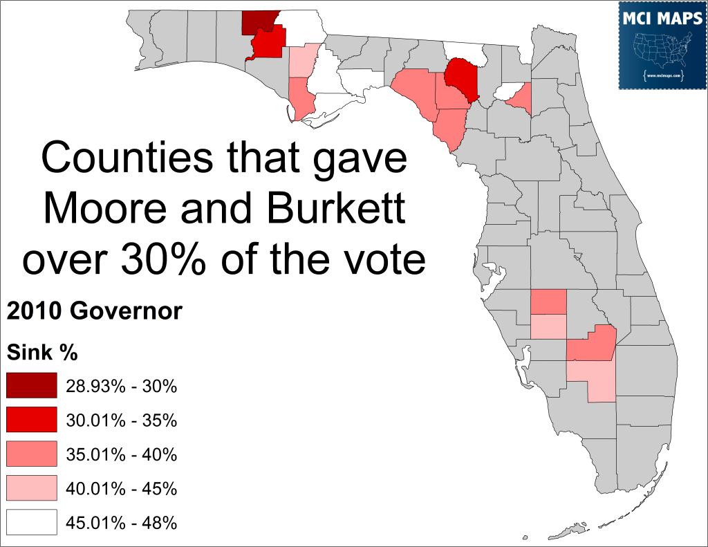 Dem Counties Sink