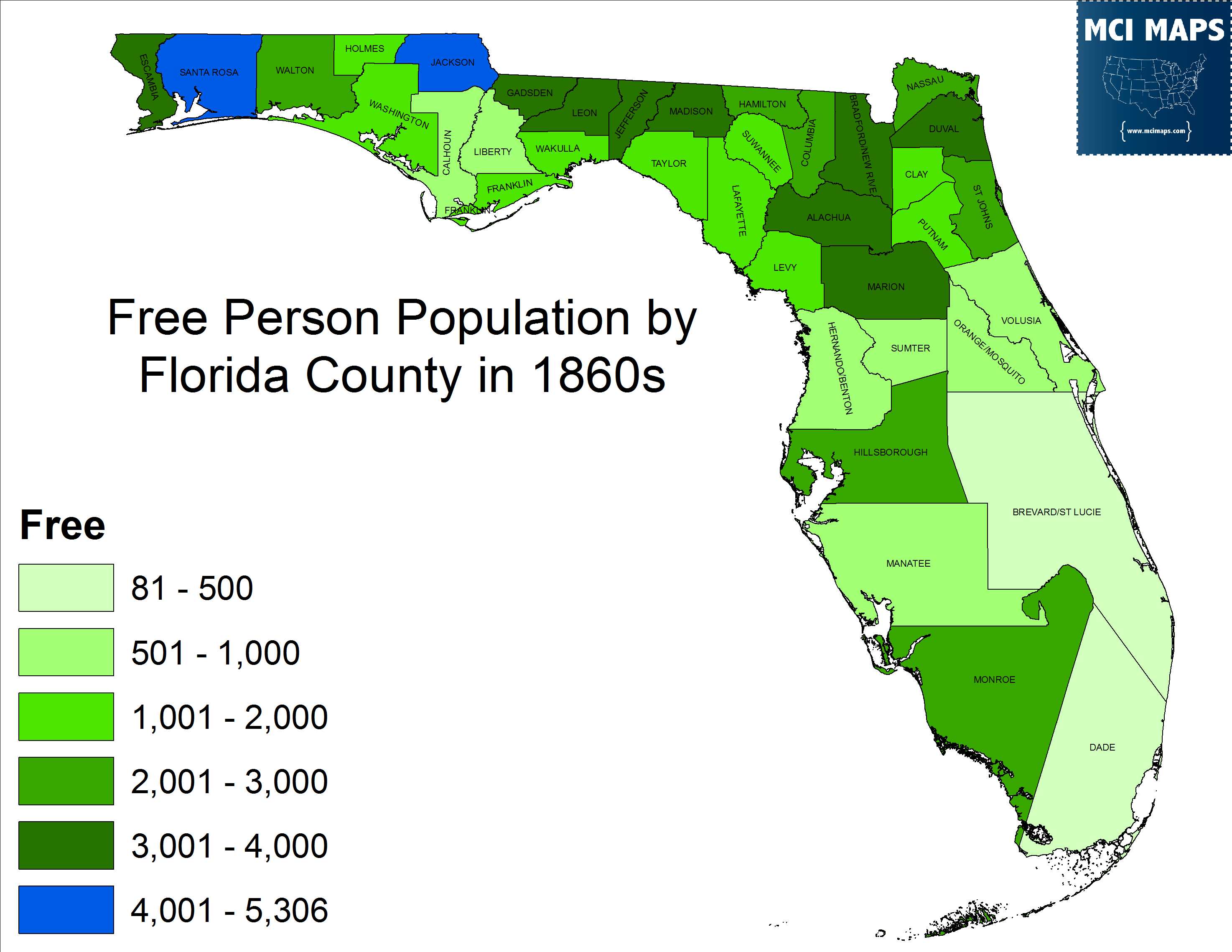 A Trip Through History On The Florida Republicans Who Voted To - Florida county map with population