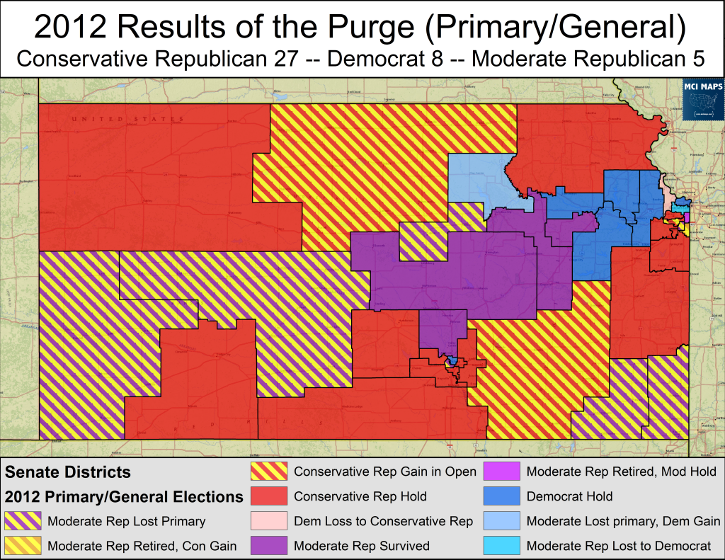 Kansas 2012 Purge Primary and General