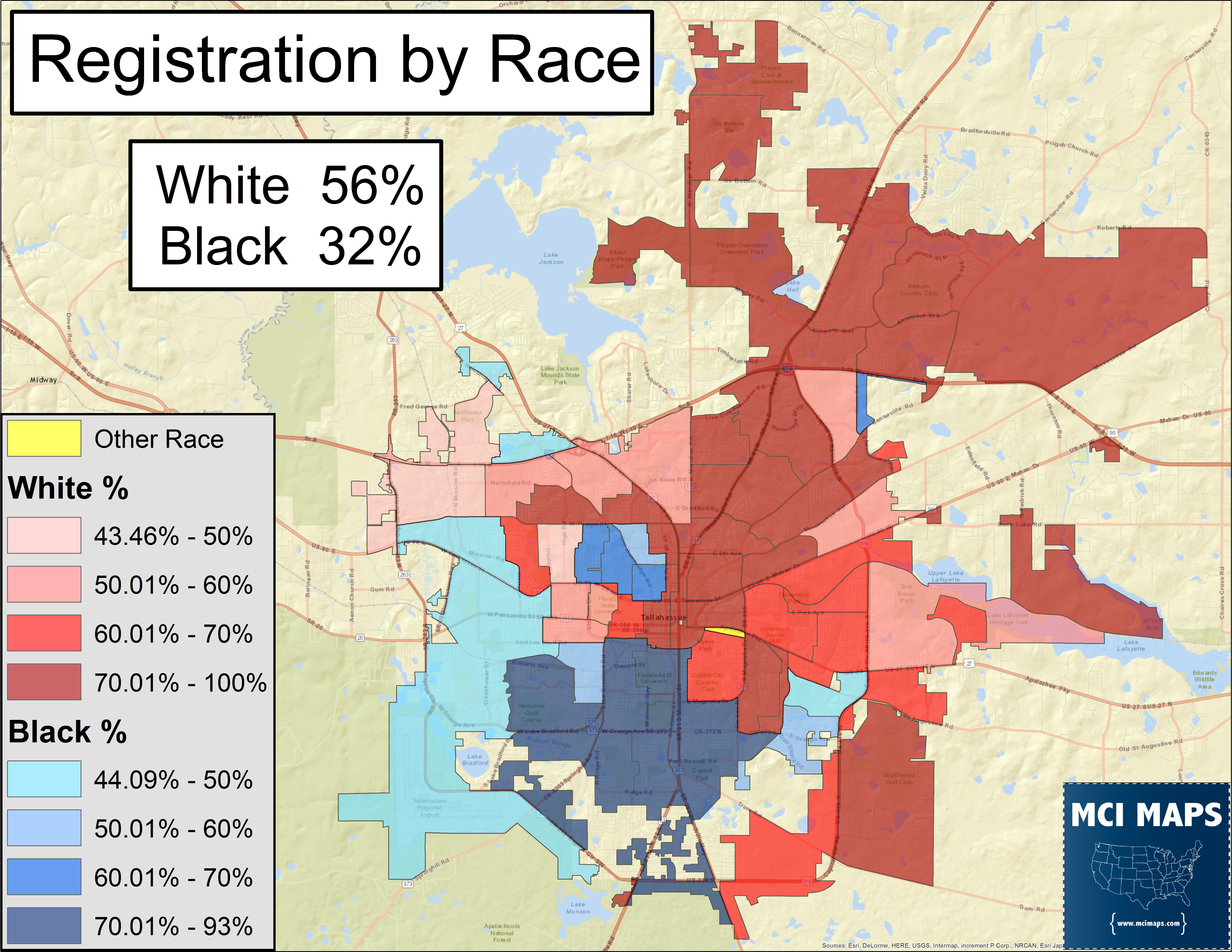 Tallahassee suburbs