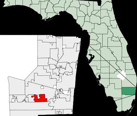 cooper city map