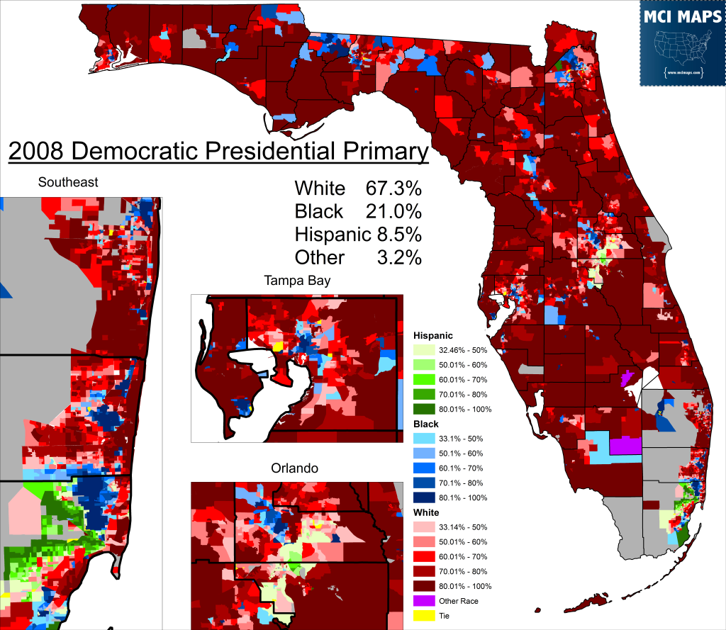 2008 PPP Precinct Race
