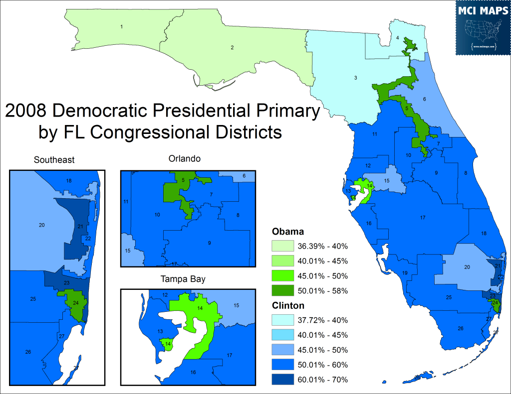 Congressional 2008 PPP Map