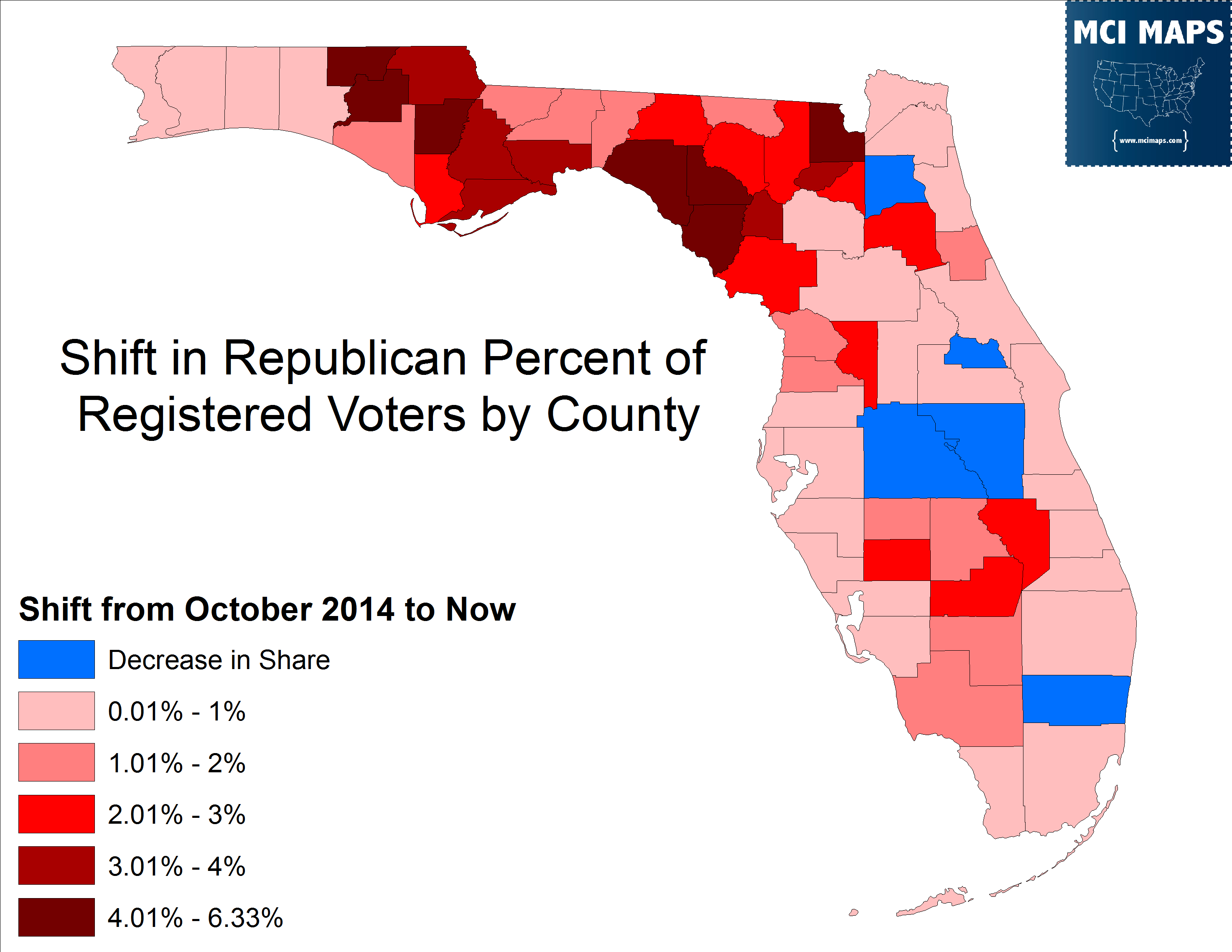 Florida Primary Preview  MCI Maps