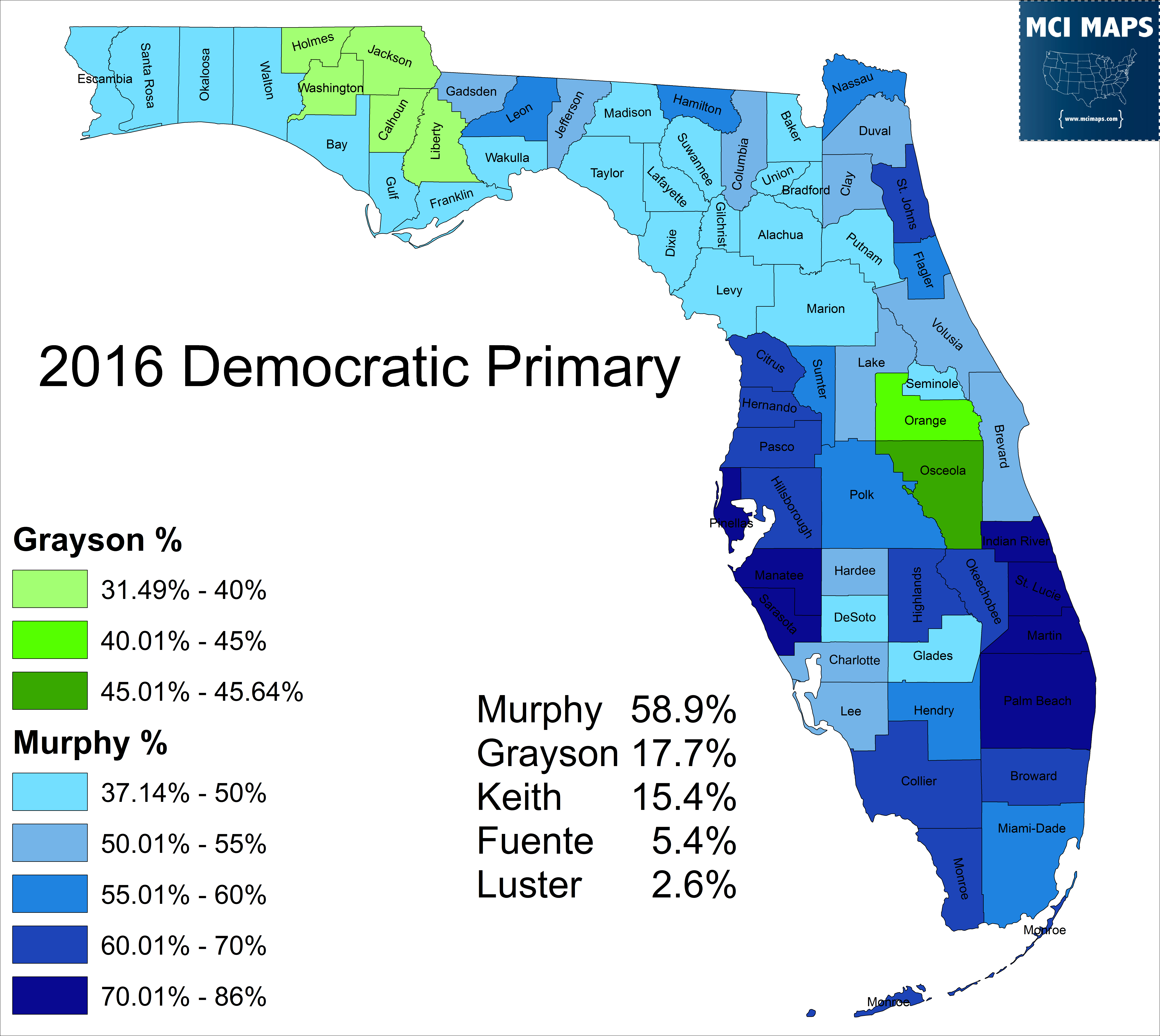 How Democrats Won Florida Senate District 40 MCI Maps