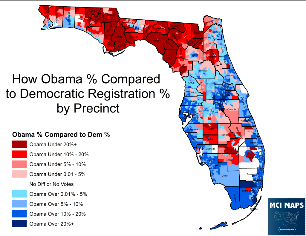 Obama Dem Drop Precinct