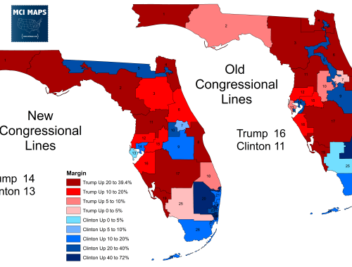 Presidential Results By Florida Senate District And The Impact Of