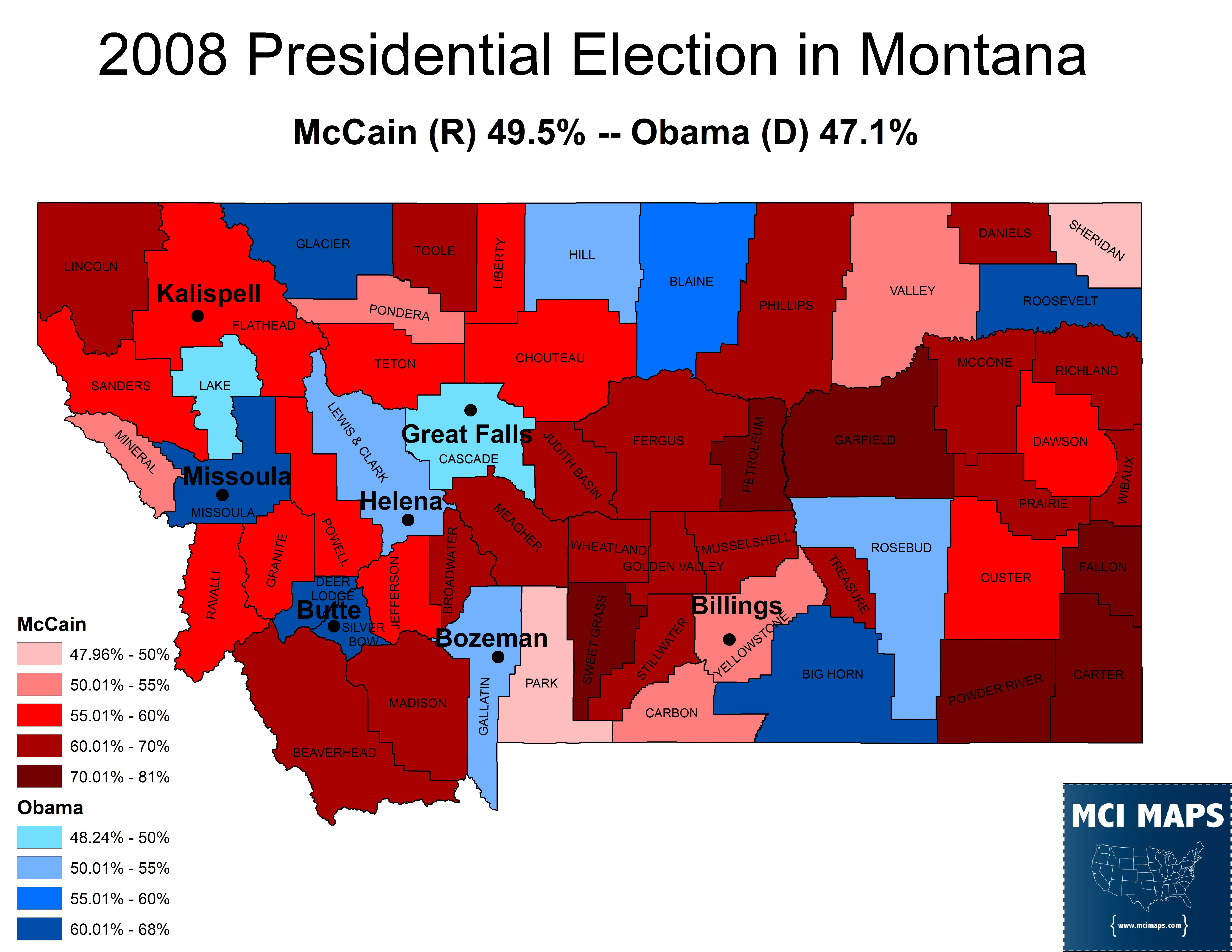 Montana 2008 Pre