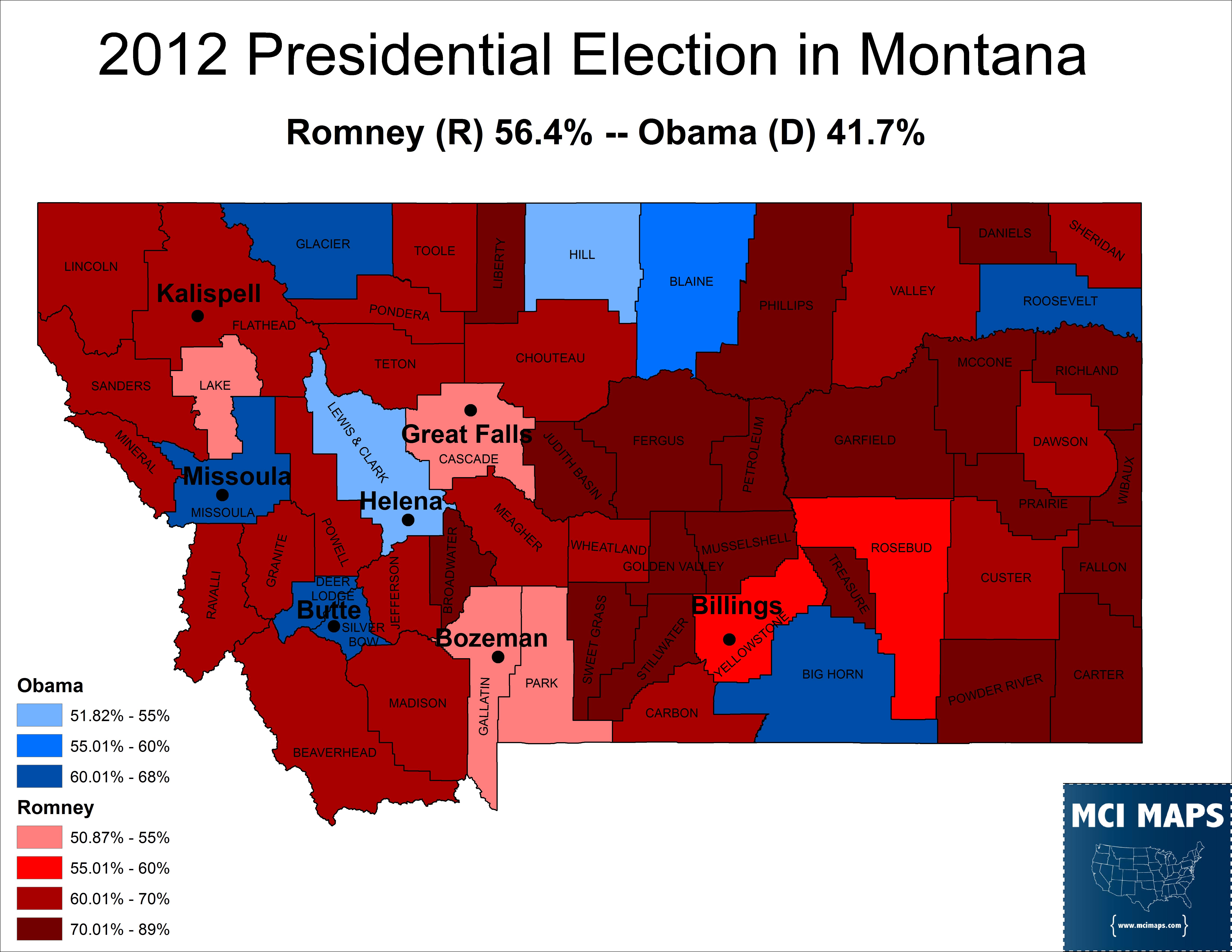 Montana 2012 Pres