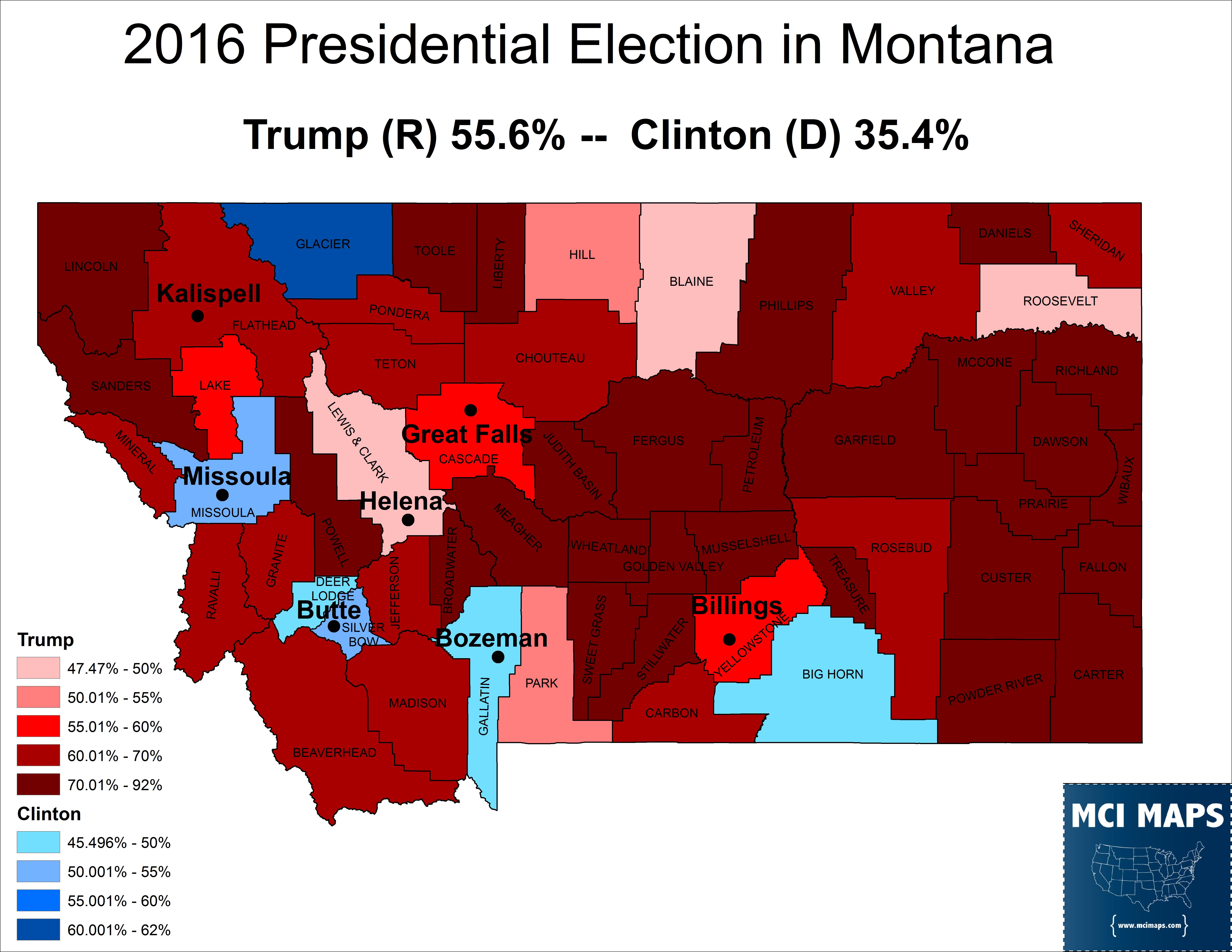 Montana 2016 Pres