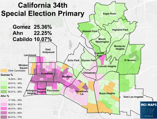 District 34 Results Neighborhood