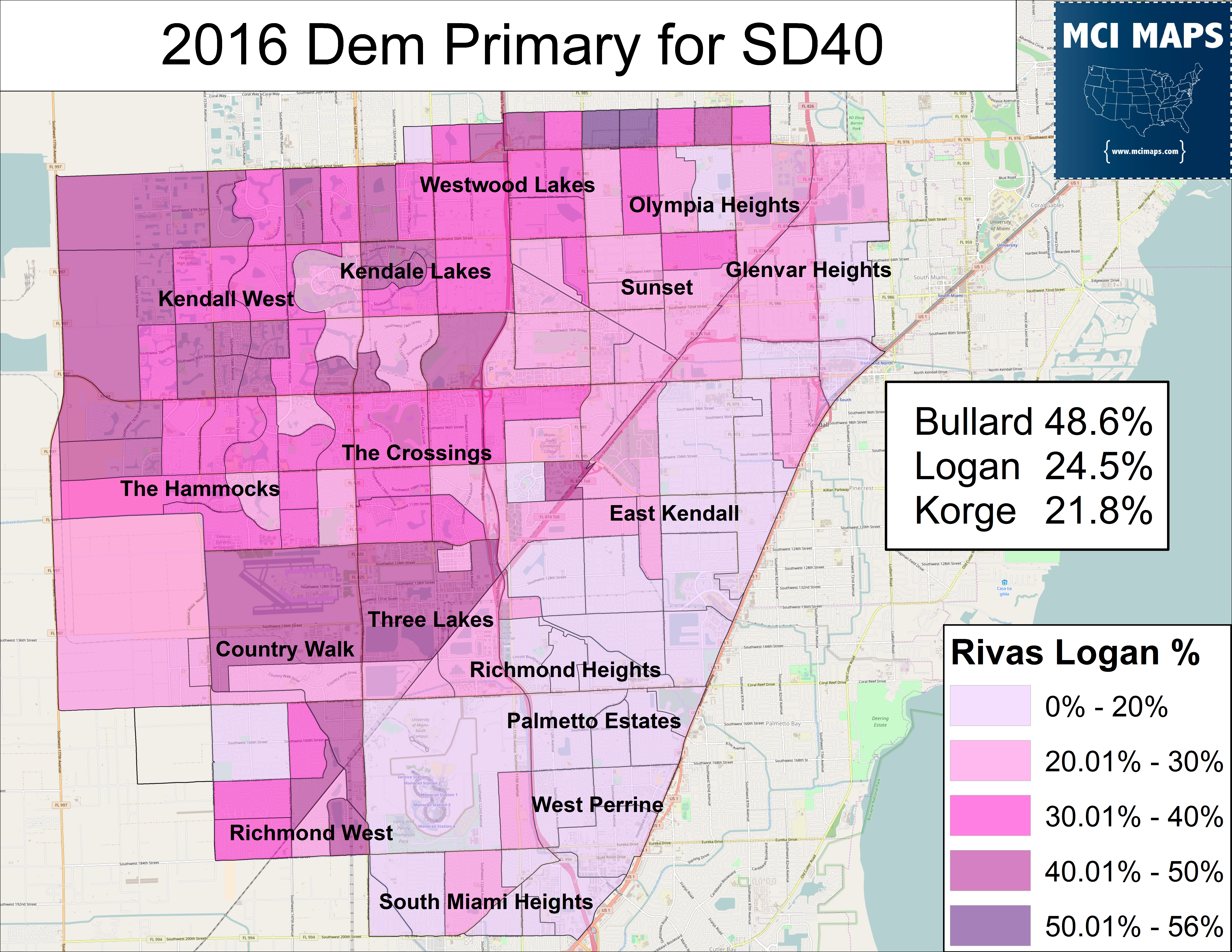2016 August DEM Dem Primary Logan
