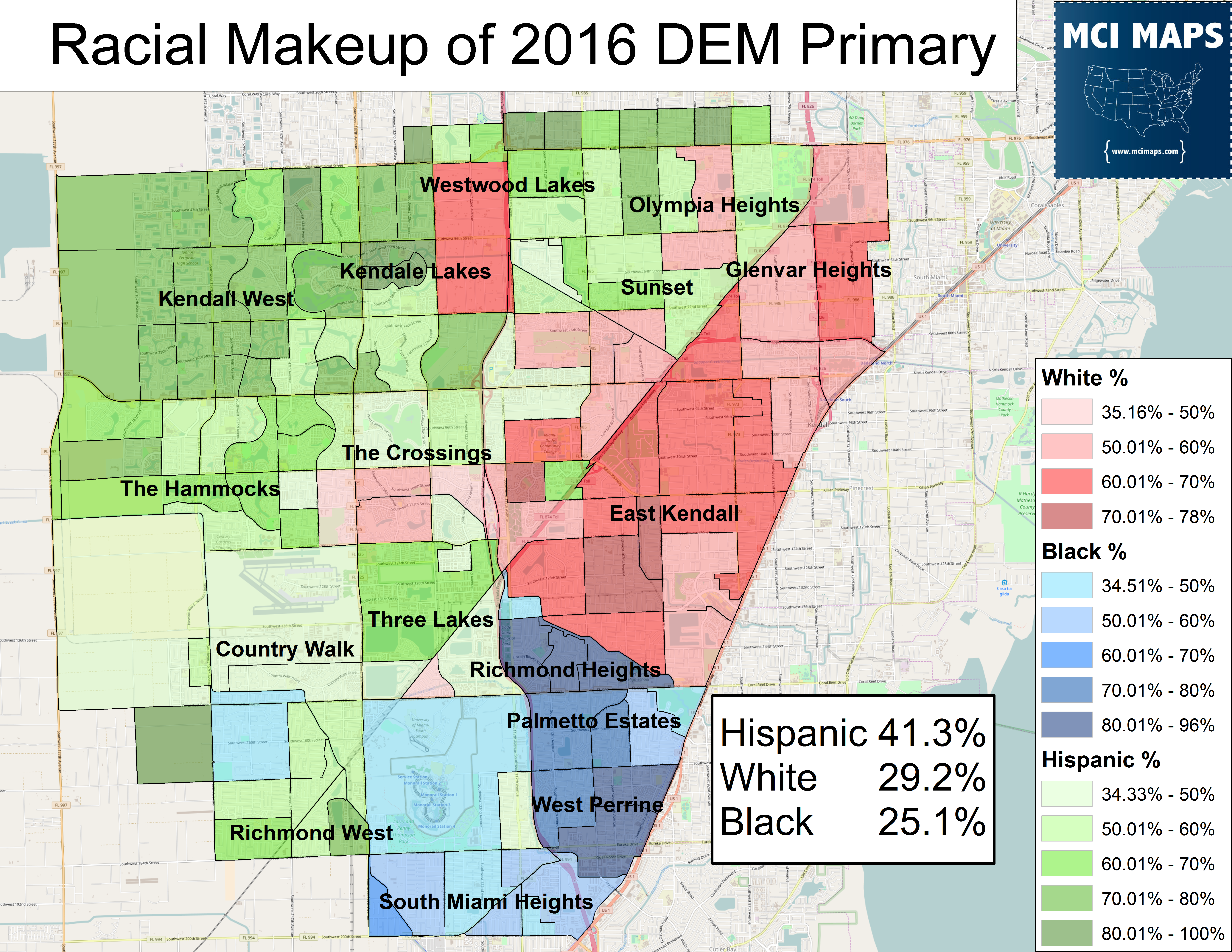 2016 August DEM Primary race