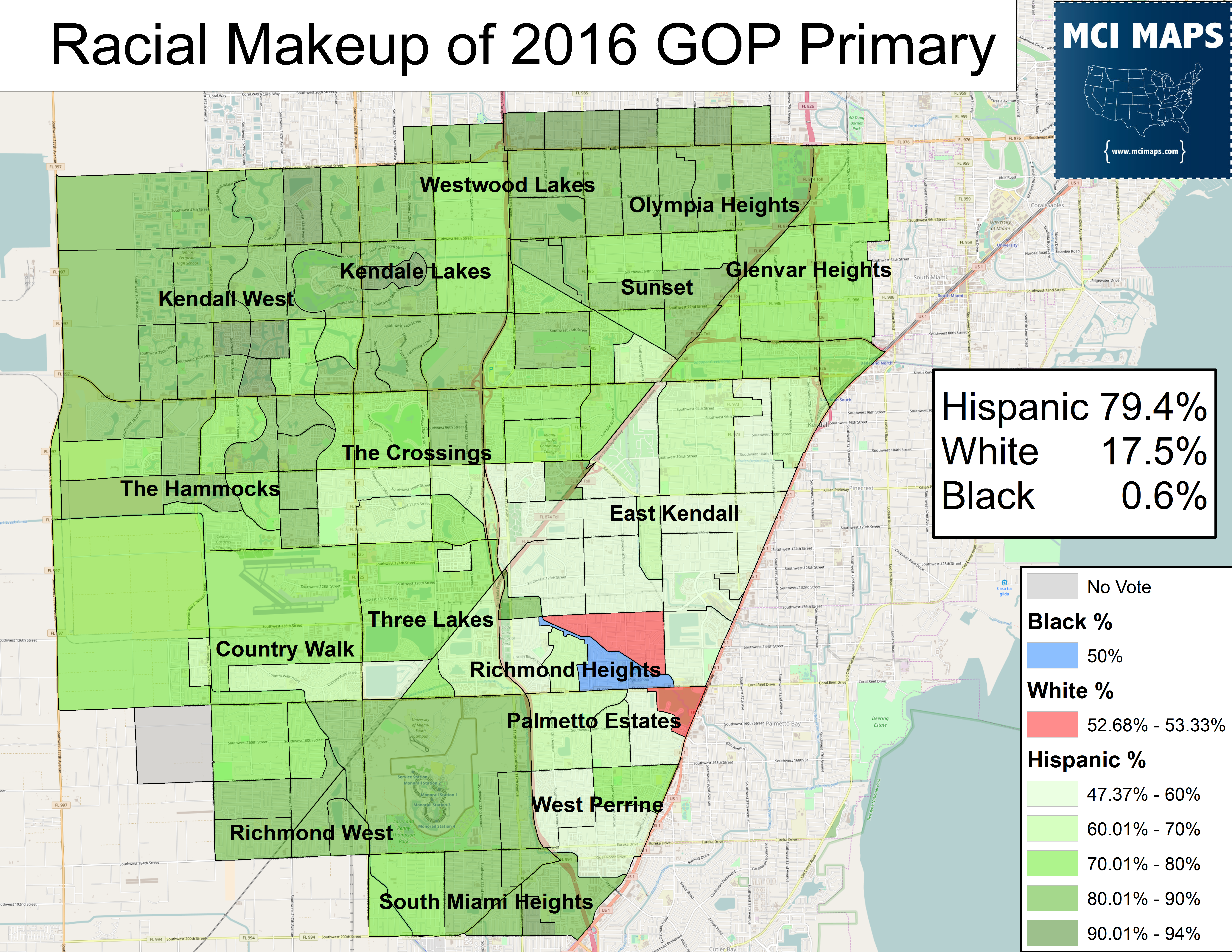2016 August GOP Primary race