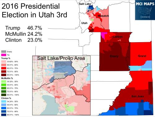 Utah 3rd 2016 Pres