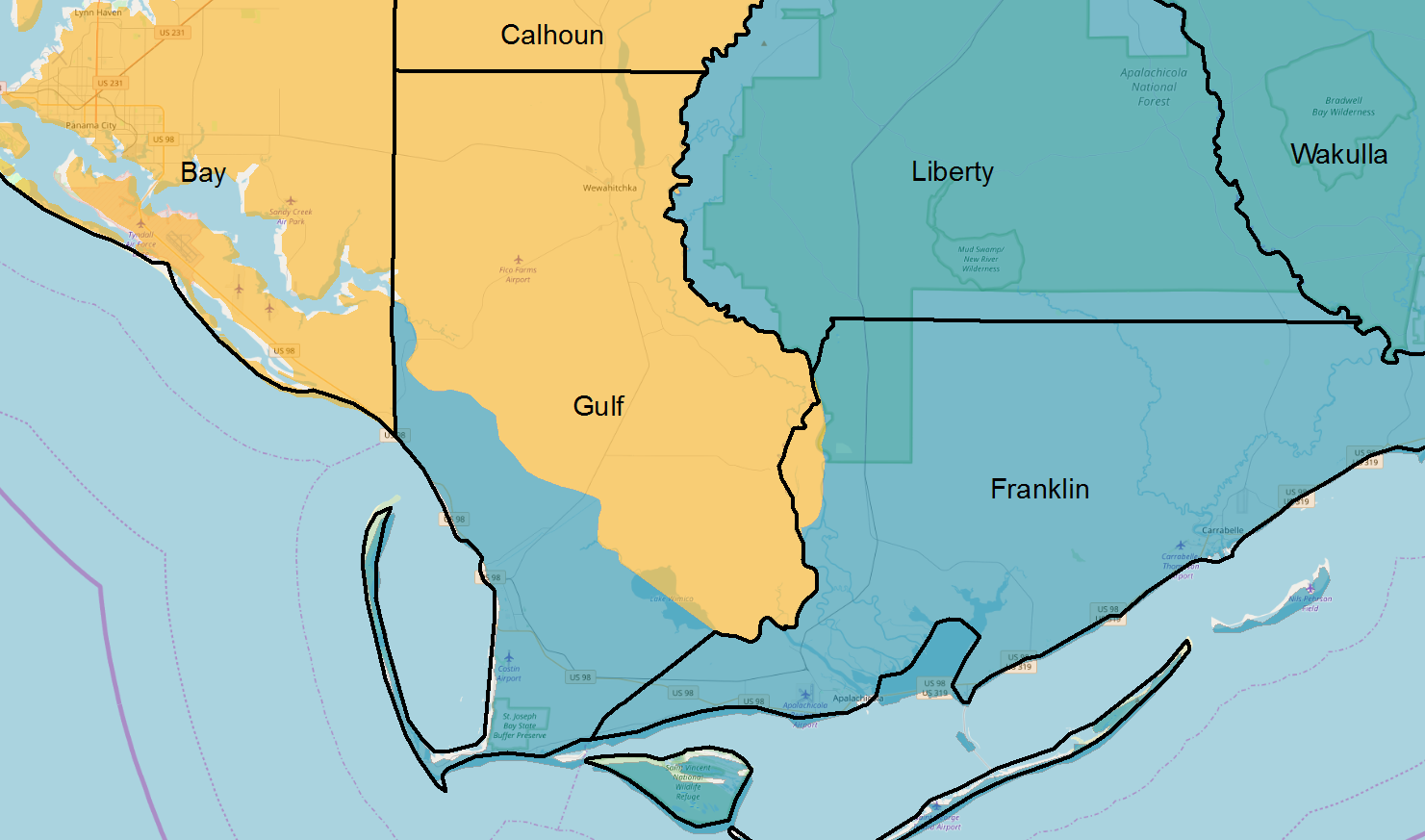 Florida Time Zone Map.How Florida S Desire To Make Daylight Savings Time Permanent Would