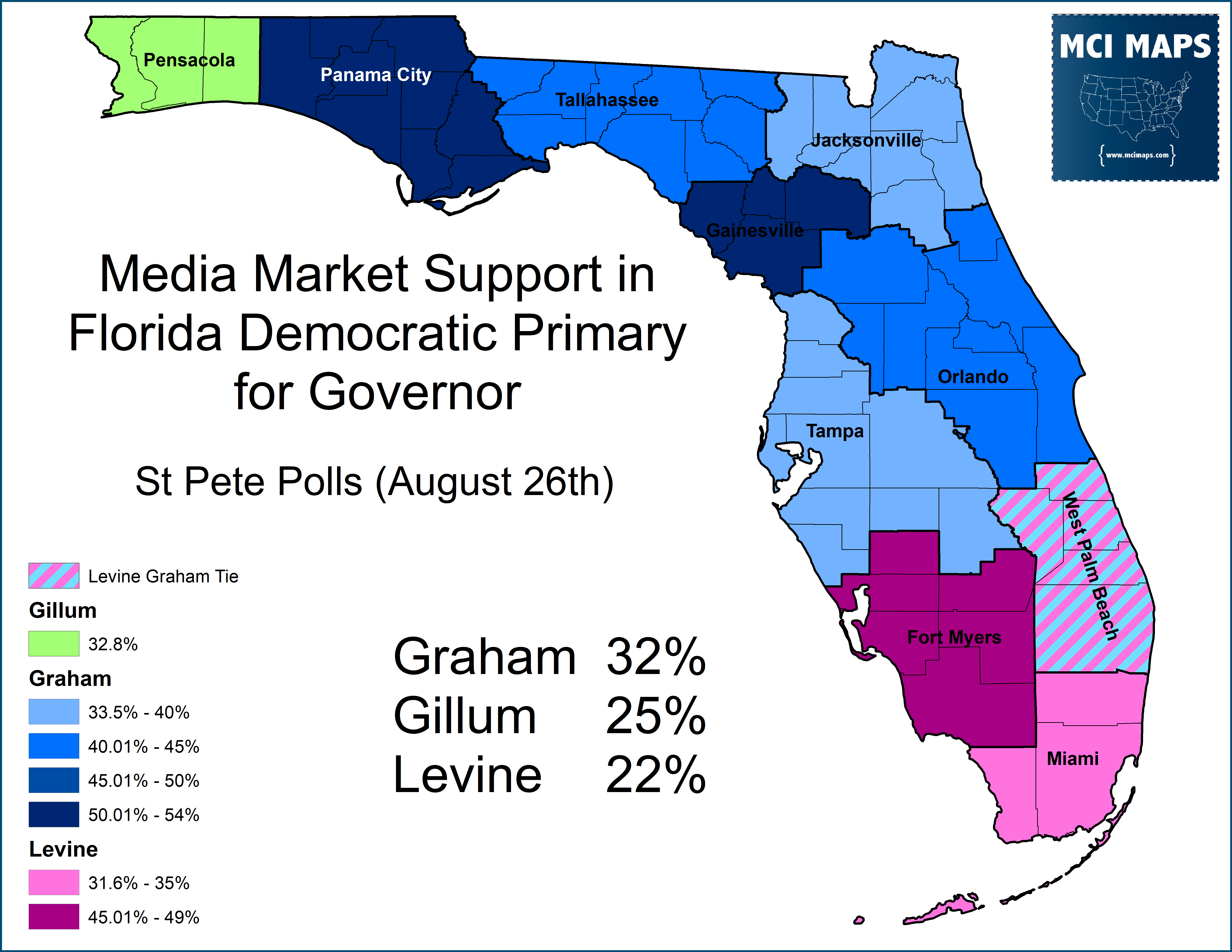 Polls indicate strong regionalism in the race 01f205fe3d