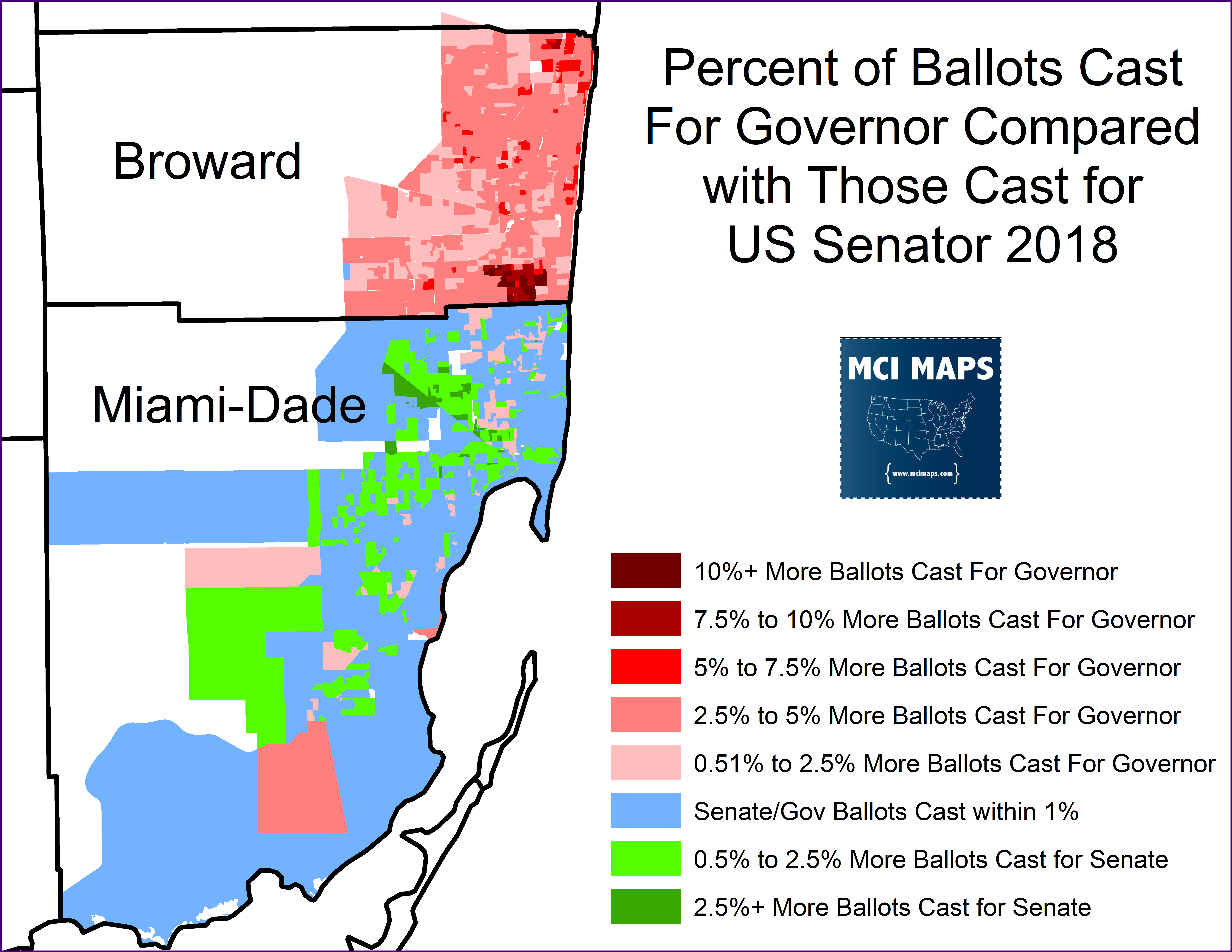 The Numbers behind Broward County\'s Terrible Ballot Design – MCI Maps