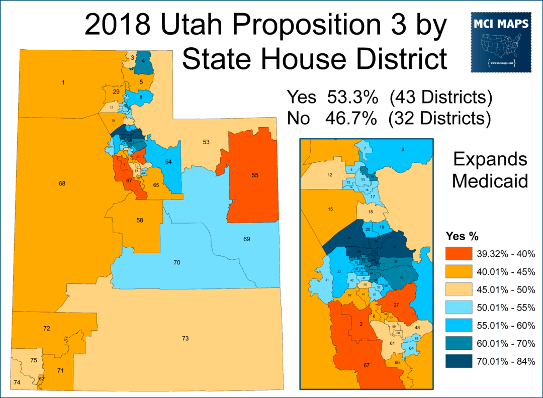 Utah S Legislature Is More Conservative Than Its Voters Mci Maps