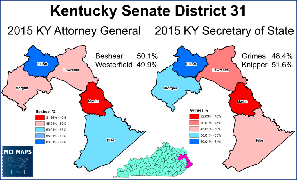 Sd31 Can Democrats Hold On In Kentucky S Coal Fields Mci Maps